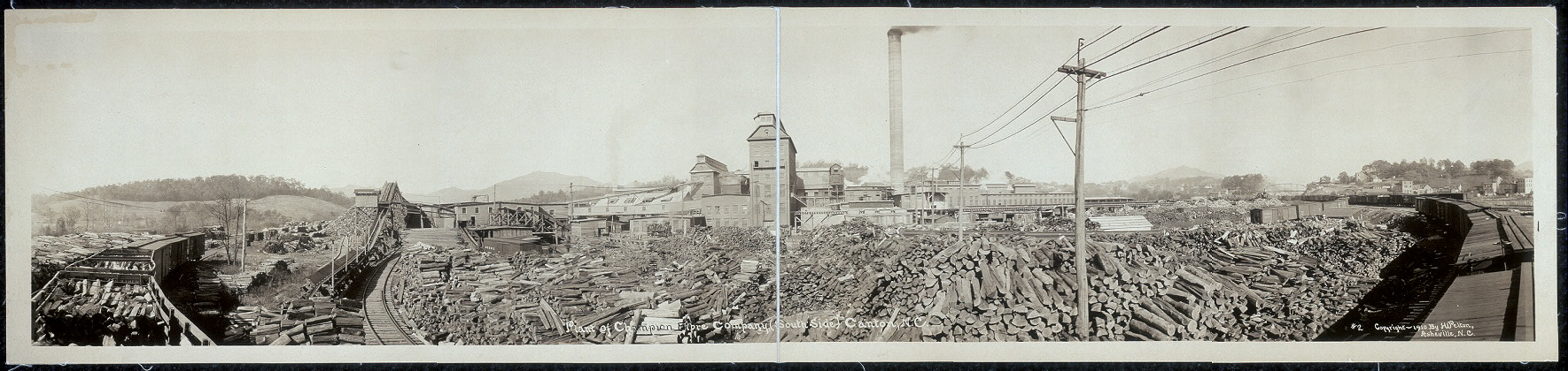 Plant of Champion Fibre Company (south side) Canton, N.C.