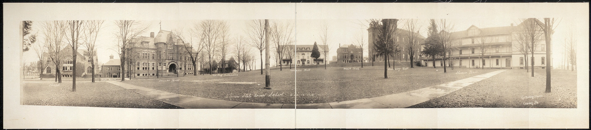 Clarion State Normal School, Dec. 12, 1919