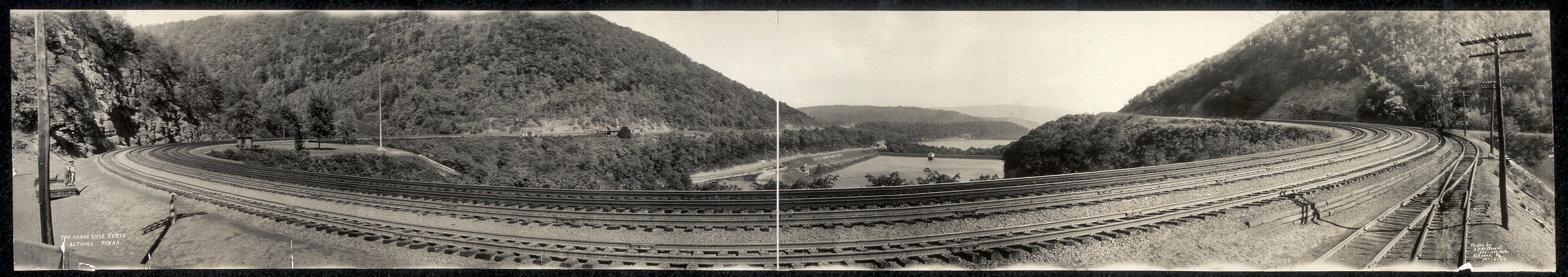 The Horseshoe Curve, Altoona, Penna.