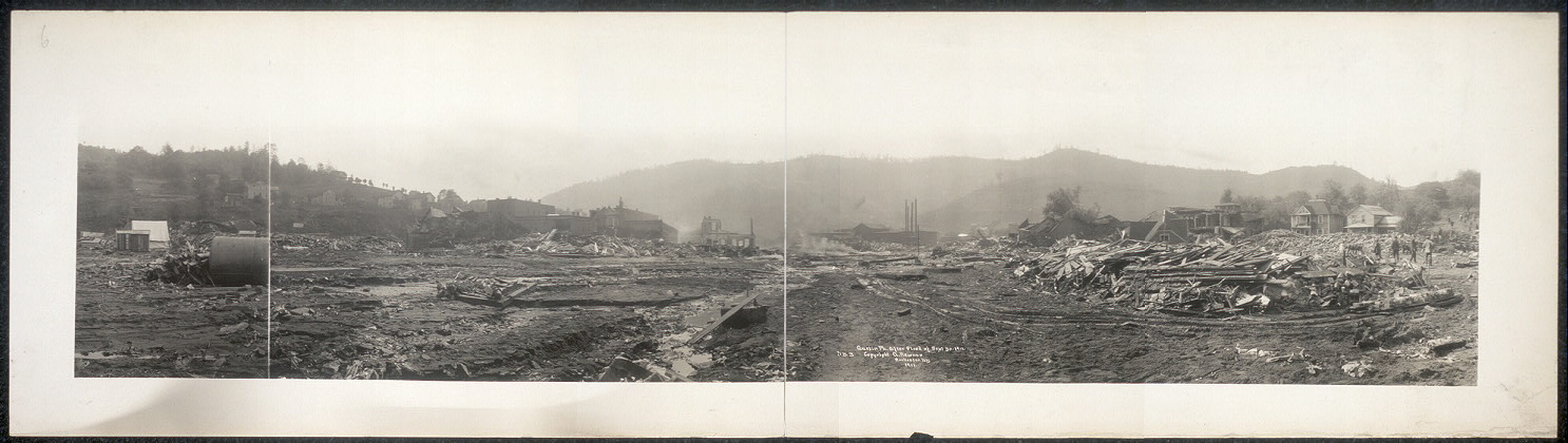 Austin, Pa. after flood of Sept. 30, 1911