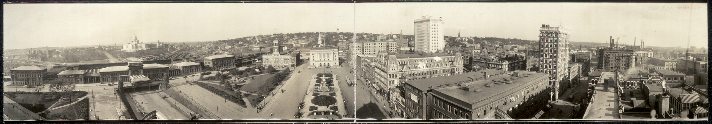 [Civic center of the city of Providence, R.I.]