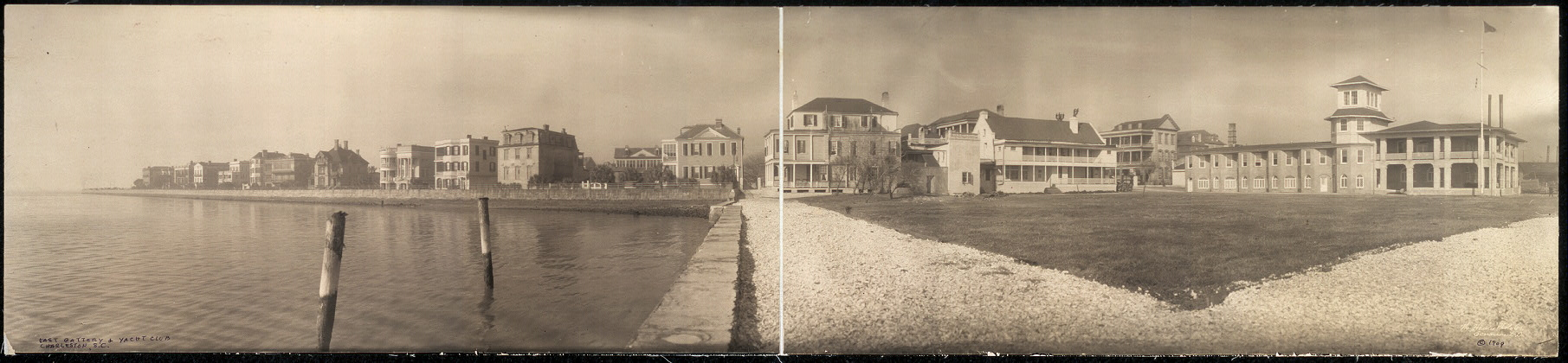 East Battery and Yacht Club, Charleston, S.C.