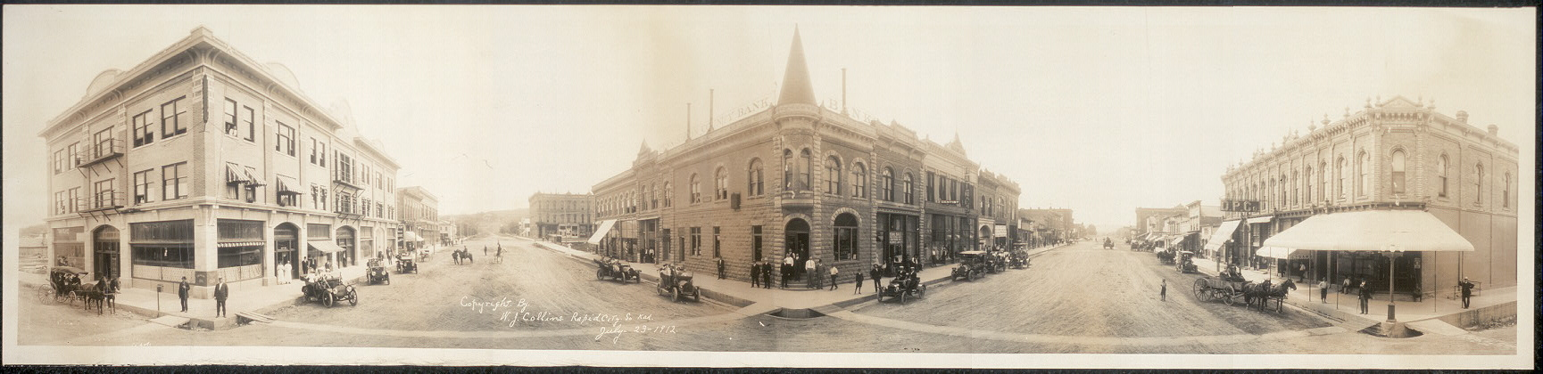 [Rapid City, South Dakota, view of 6th and Main Sts.]