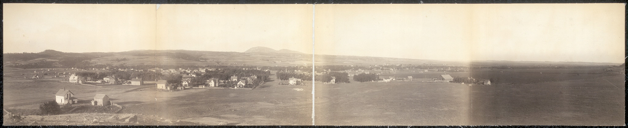 [Panoramic view of Spearfish, S.D.]