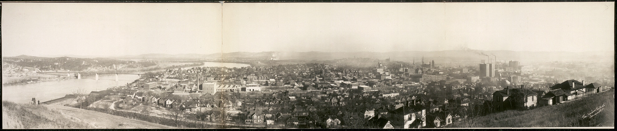 B.E. view, Chatanooga [sic], Tenn.