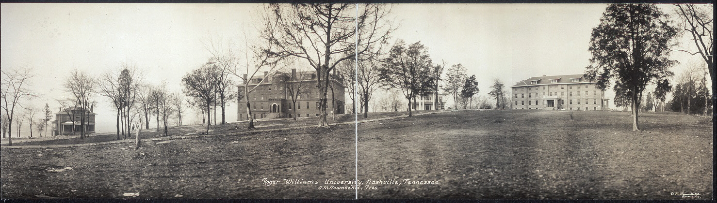 Roger Williams University, Nashville, Tennessee, A. M. Townsend, Pres.