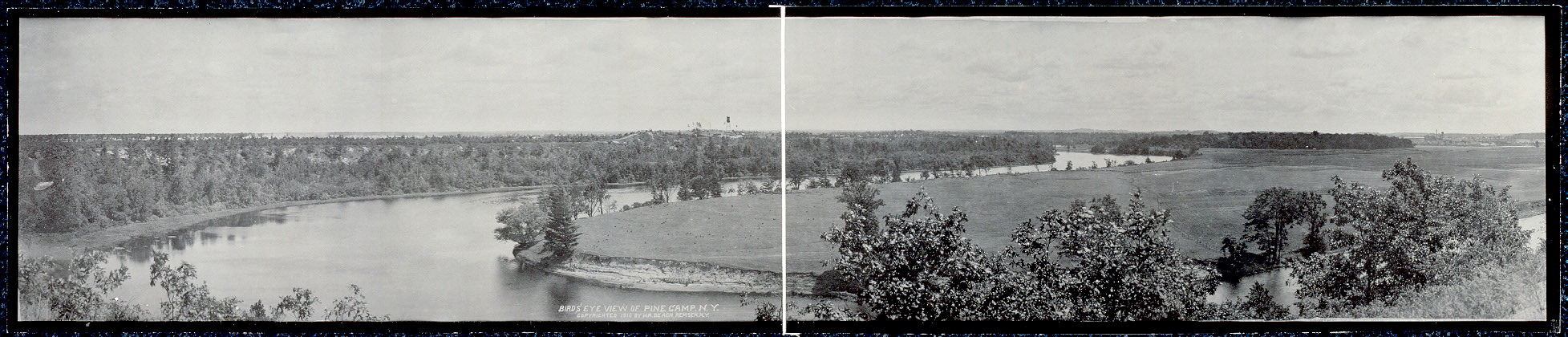Birds' eye view of Pine Camp, N.Y.