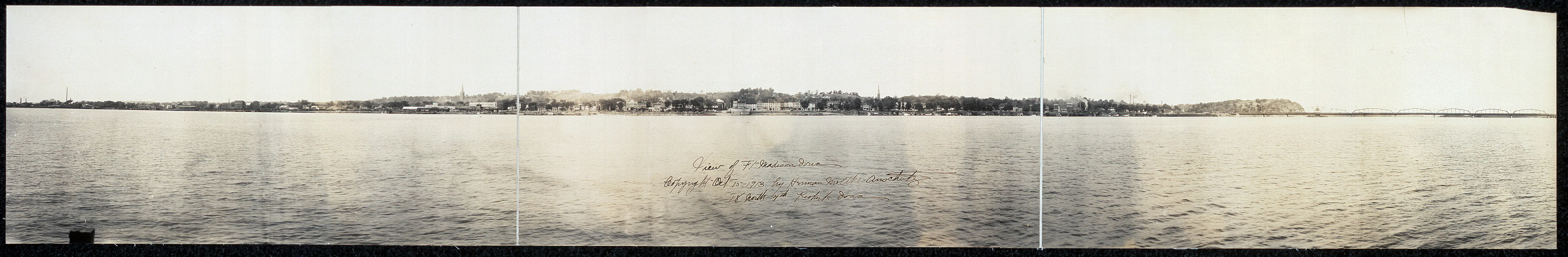 View of Ft. Madison, Iowa