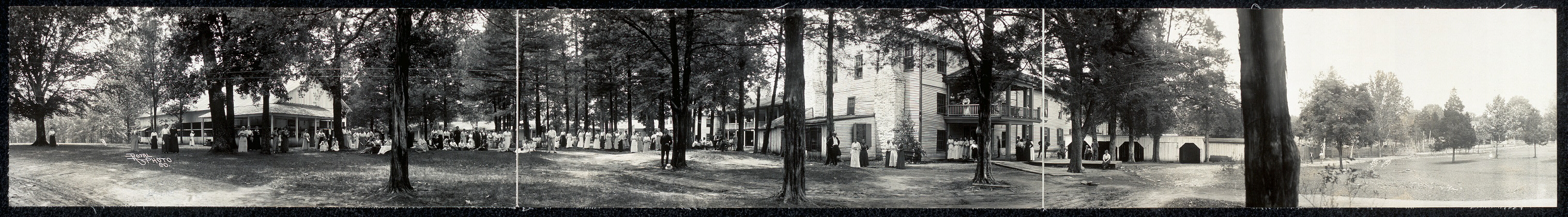 [Mammoth Cave Hotel grounds]