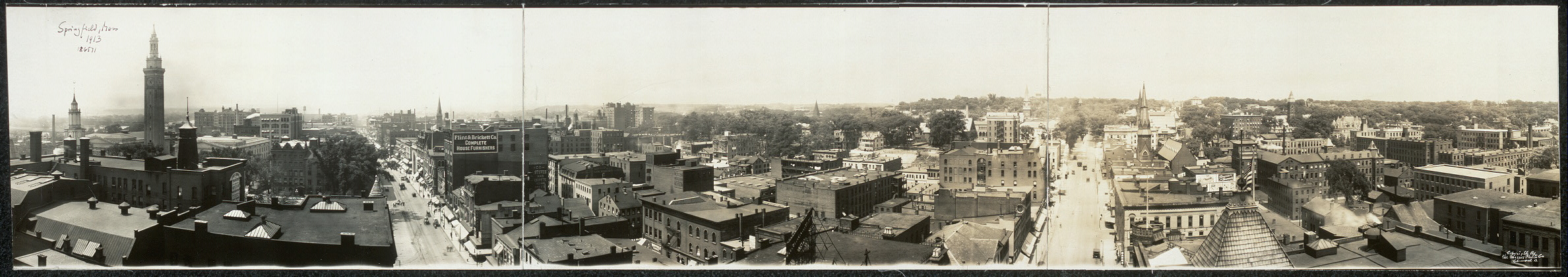 Panorama of Springfield, Mass.
