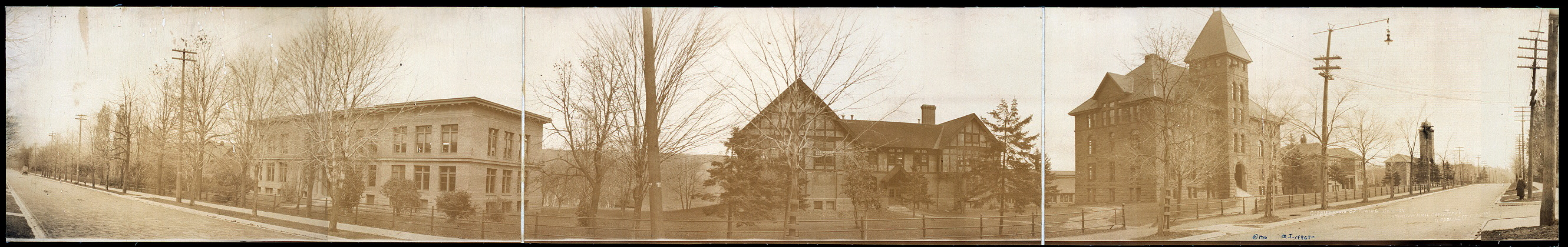 Cirkut photo of Mining College, Houghten [sic], Mich.