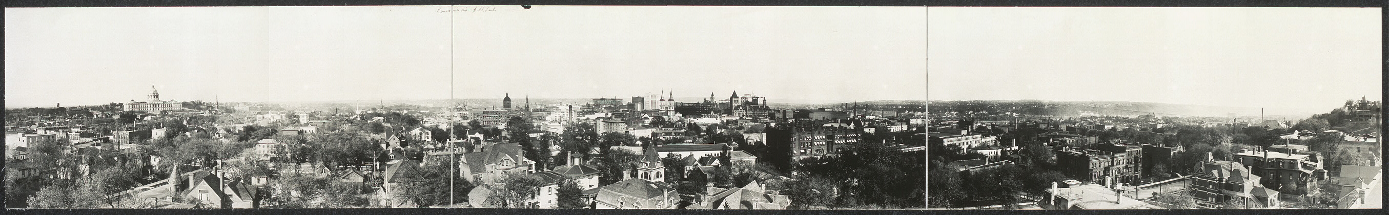 Panoramic view of St. Paul