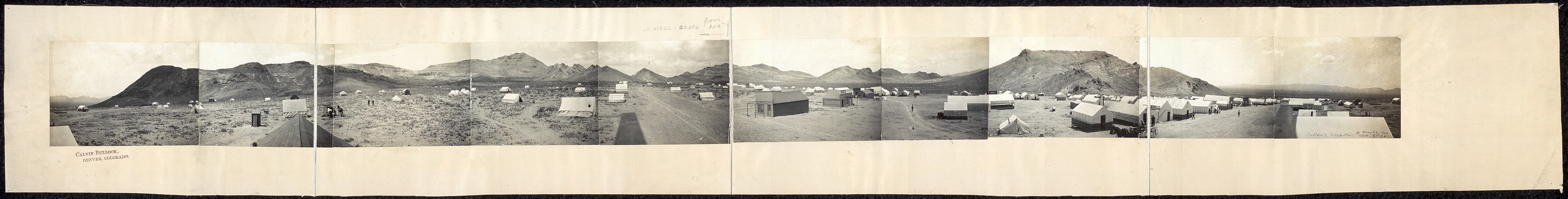 [Panoramic view of Bullfrog, Nevada]