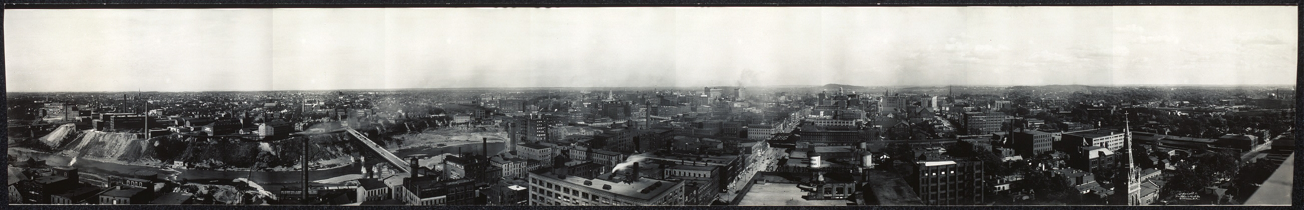 Birds eye view of Rochester, N.Y.