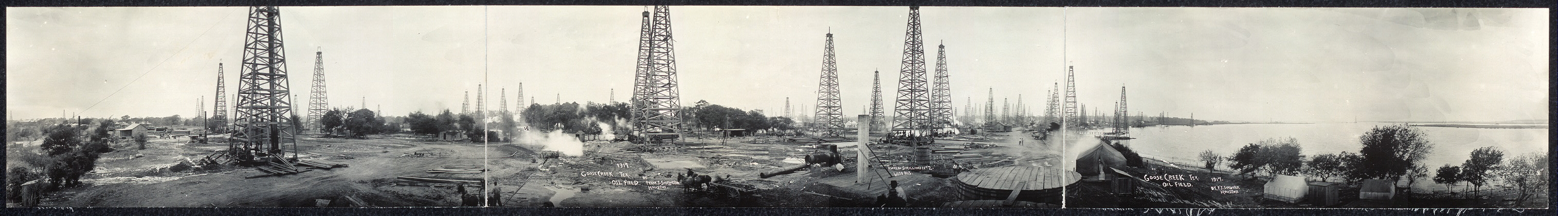 Goose Creek, Tex. oil field, 1917