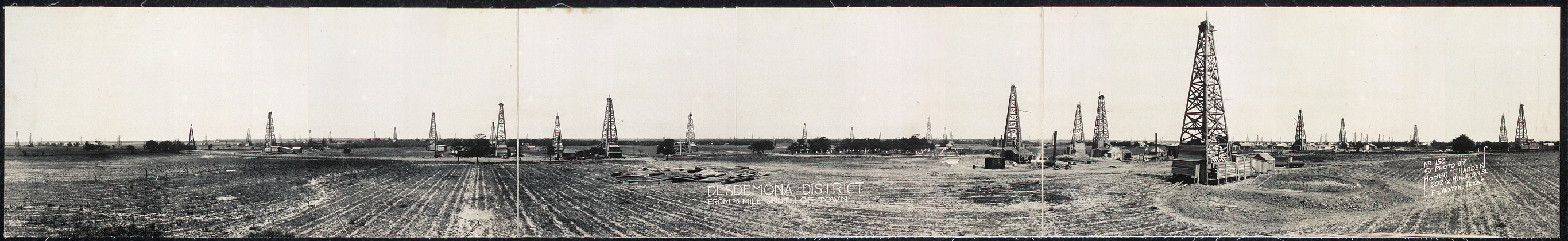 Desdemona district from 1-2 mile south of town