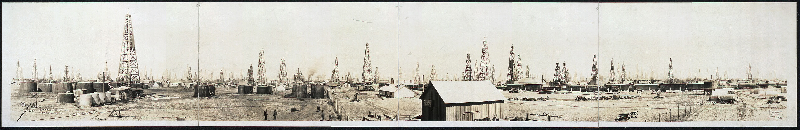 West end, Burkburnett oil field