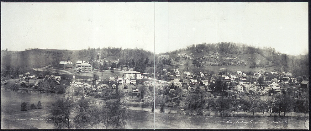 View of Bethany College and Bethany, W. Va.