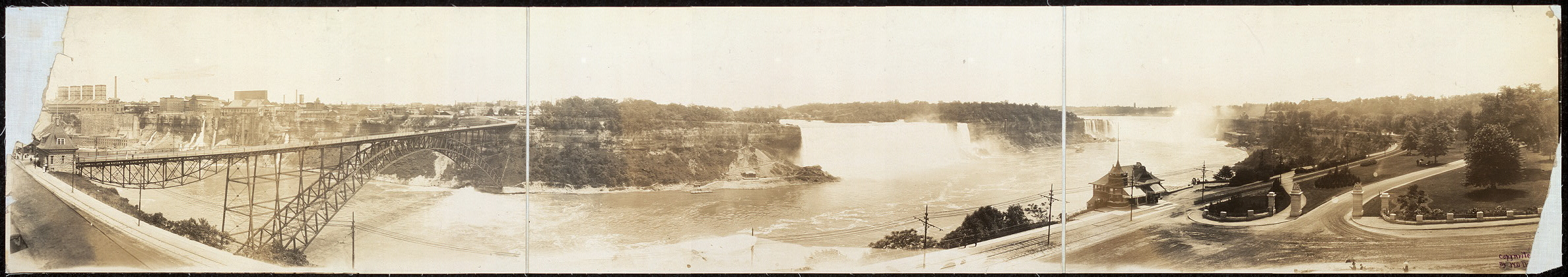 [Niagara Falls from Clifton Hotel, Niagara Falls, Ont., Can.]