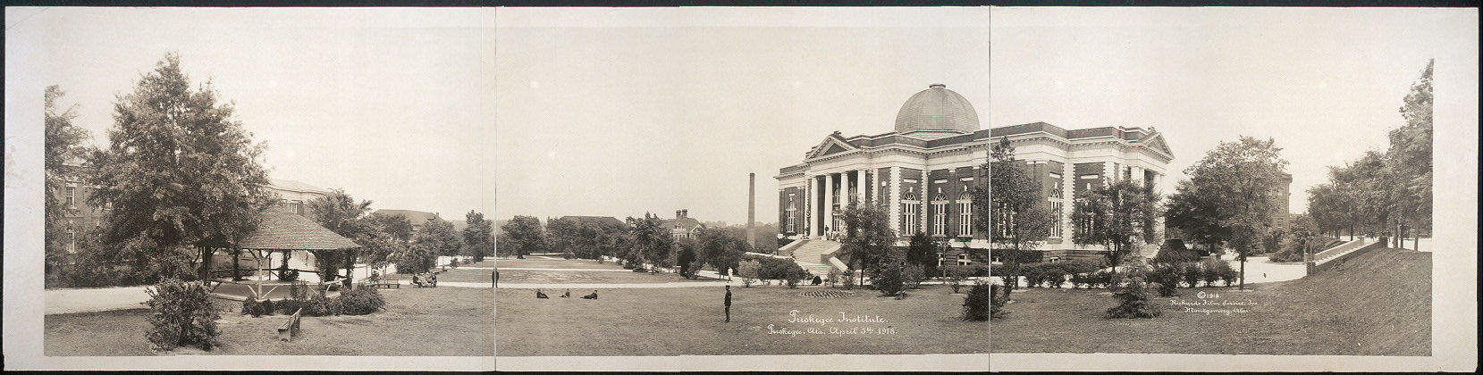 Tuskegee Institute, Tuskegee, Ala., April 5th, 1918
