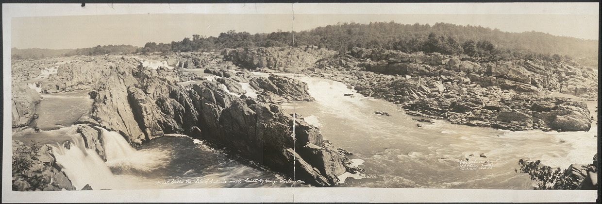 Great Falls, Va., site of historic mill built by George Washington
