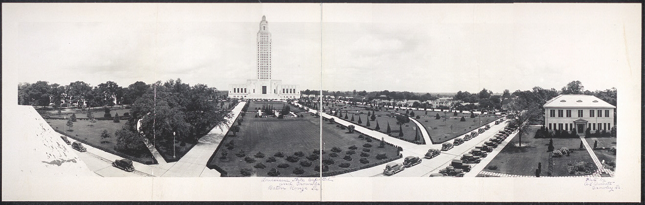 Louisiana State Capital and grounds, Baton Rouge, La.