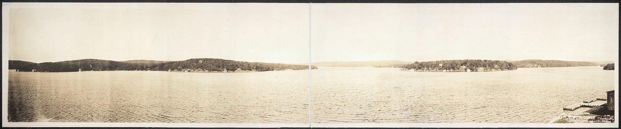 Lake Hopatcong, N.J. from Nolan's Point