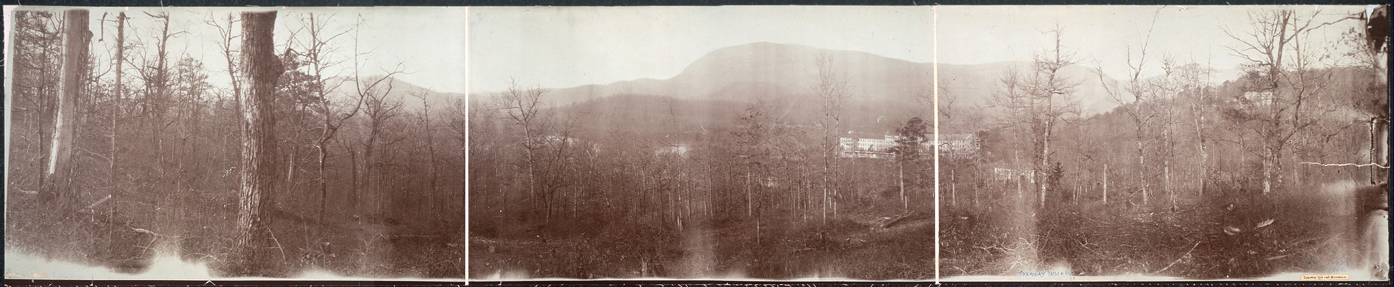 Toxaway Inn and mountains