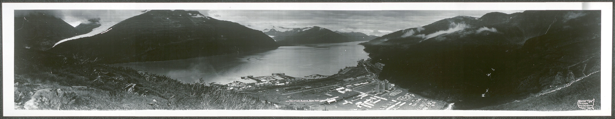 Whittier, Alaska, Sept. 1957