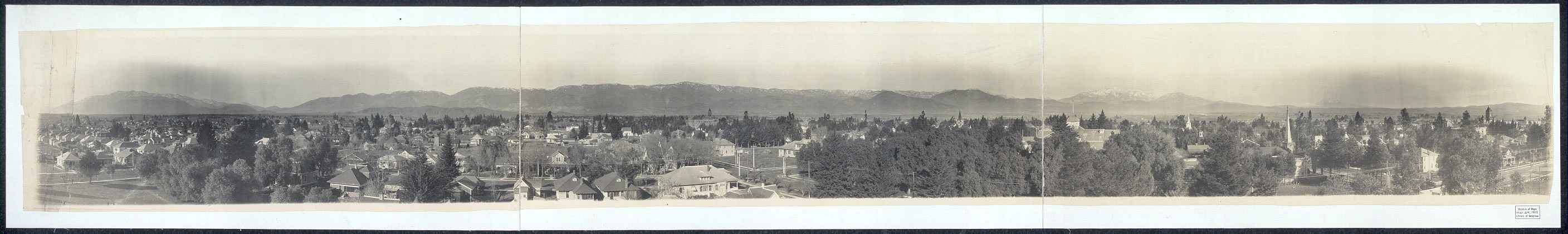 San Bernardino, California, city and village