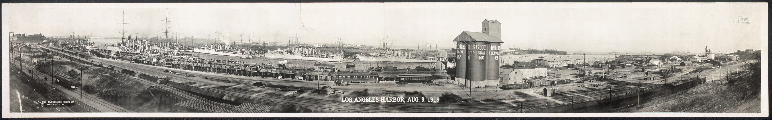 Los Angeles Harbor, Aug. 9, 1919