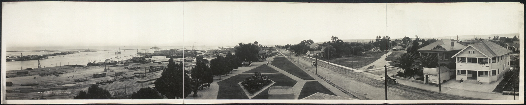 San Pedro, Cal., south from public library