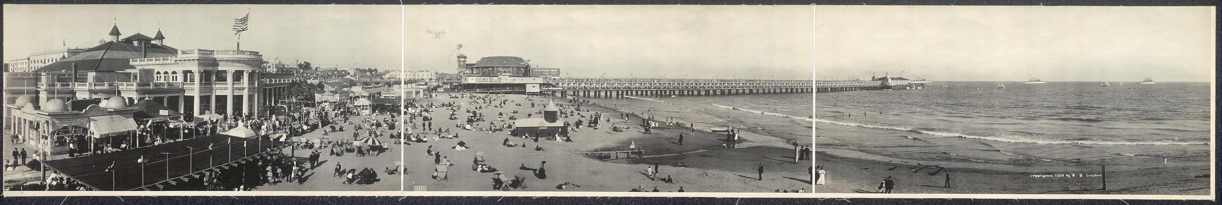 Long Beach pier, Long Beach, Cal.
