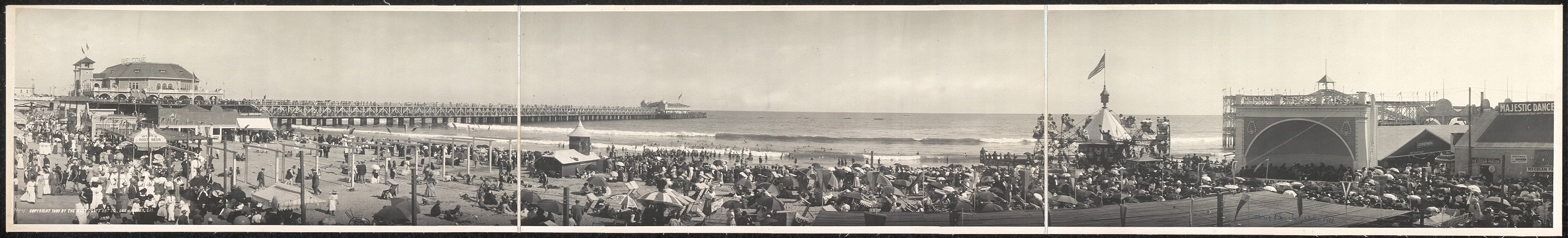 Long Beach at waterfront, Long Beach, Calif., Oct. 7th, 1911
