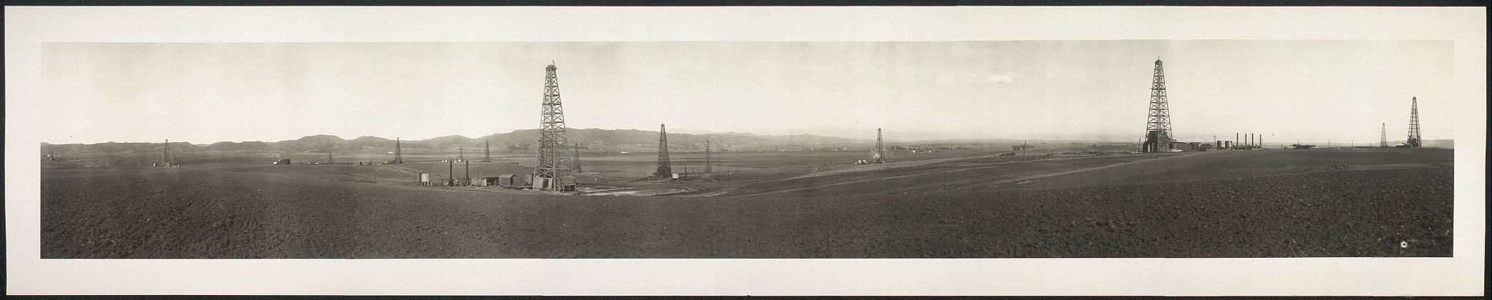 Beverly oil field