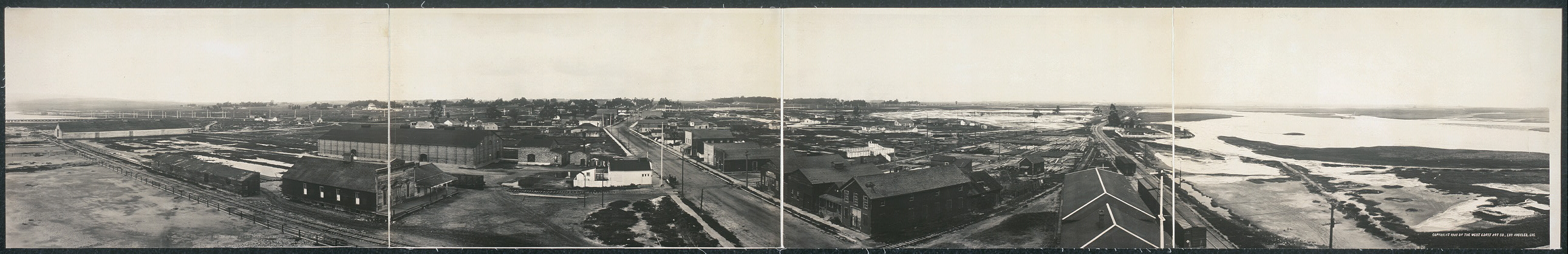 [Panorama of Stockton, Cal.]
