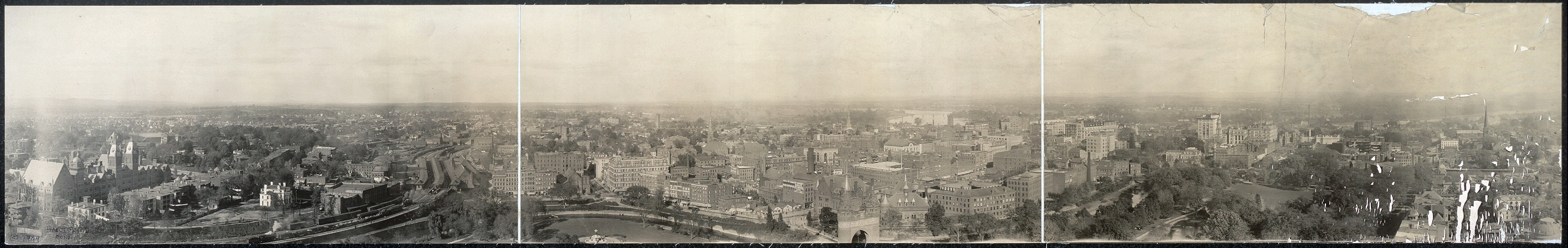 Panoramic view, Hartford, Conn.