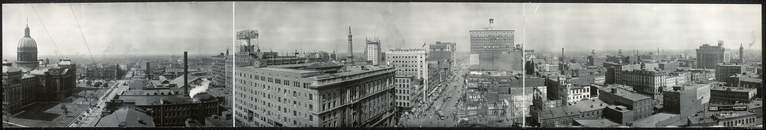 Panorama of Indianapolis