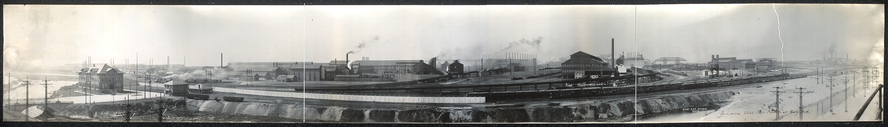 Indiana Steel Co.'s plant at Gary, Ind.