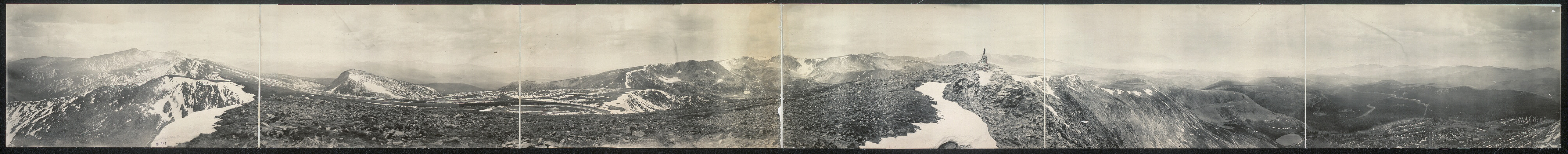 [Corona Moffat Road, Colo., crest of the Continental Divide, 11,666 ft.]
