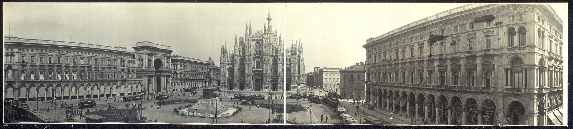 [Duomo Square and Cathedral, Milan]