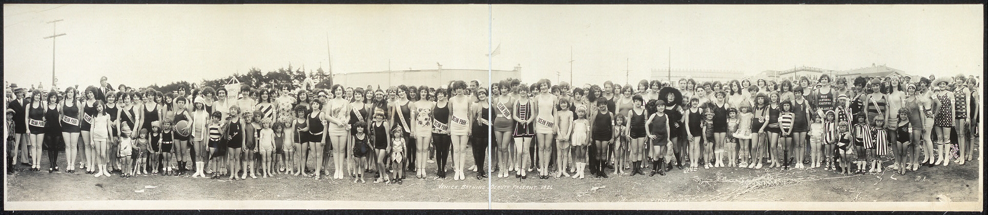 Venice Bathing Beauty Pageant, 1926
