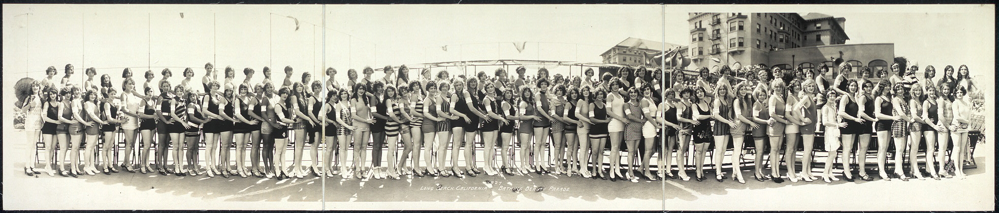 Long Beach, California, Bathing Beauty Parade, 1927