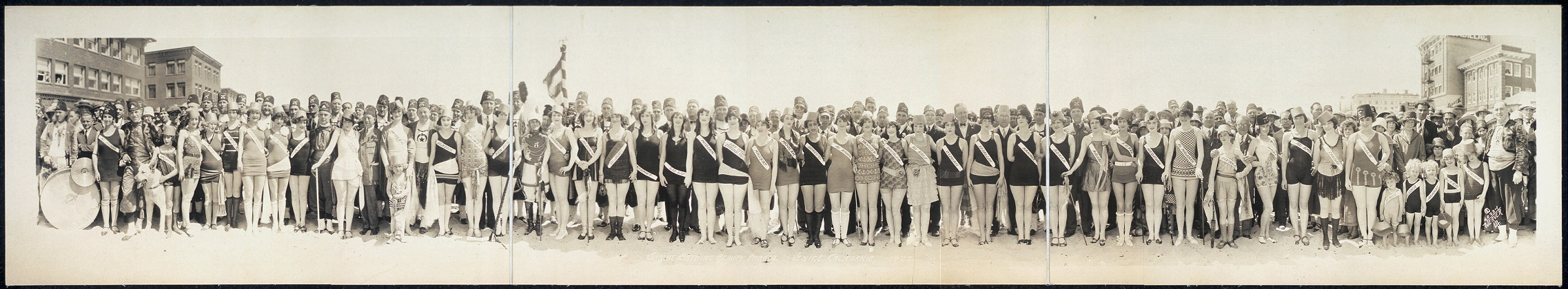 Shrine Bathing Beauty Parade, Venice, California, 1925