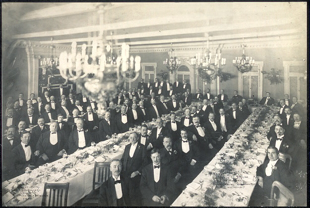 Banquet given to Ex-Mayor D. S. Rose by his friends, Plankinton Hotel, Milwaukee, Wis., April 10th, 1907
