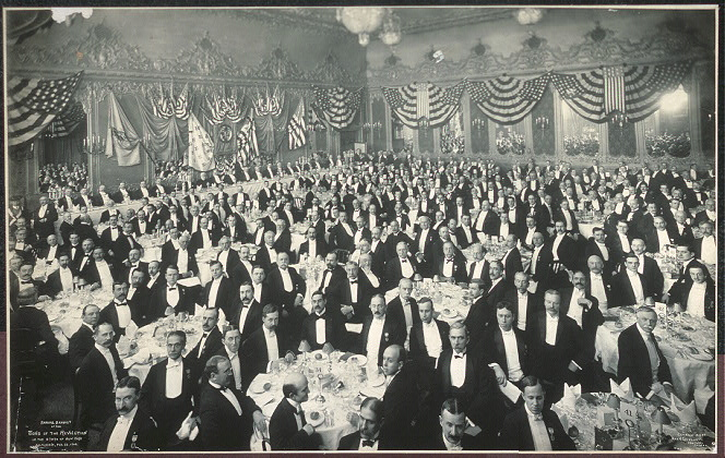 Annual Banquet of the Sons of the Revolution in the State of New York, Delmonico's, Feb. 22, 1906