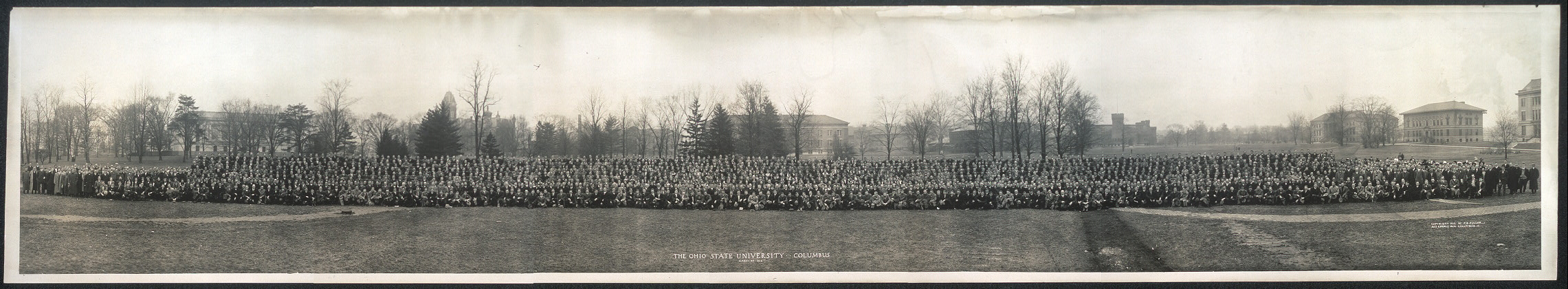The Ohio State University, Columbus, March 27, 1912