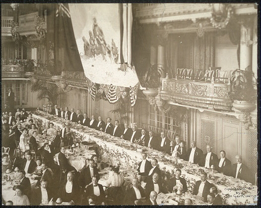 Dinner to Commander Robert E. Peary, U.S.N., Hotel Astor, March 5, 1910