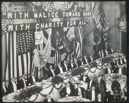 [Twenty-fourth dinner of the Republican Club of the city of New York, Waldorf-Astoria Hotel, Feb. 12, 1910]