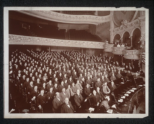 [American Bankers Association Convention at Milwaukee, 1901]